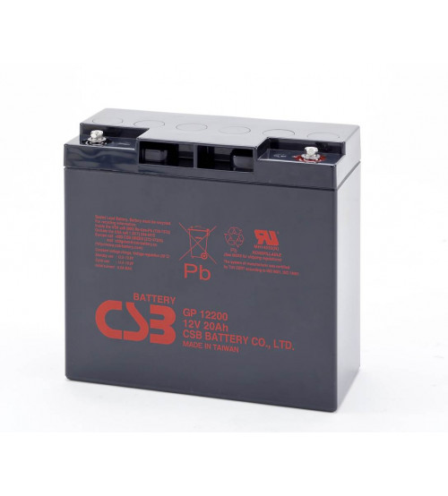 GP12200 / CSB VRLA Battery 12V 20AH