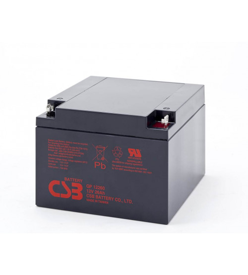 GP12260 / CSB VRLA Battery 12V 26AH